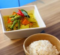 "Photo of Seeds Garden Bistro  by <a href=""/members/profile/JimmySeah"">JimmySeah</a> <br/>Khmer yellow curry rice <br/> January 14, 2016  - <a href='/contact/abuse/image/68249/269659'>Report</a>"