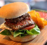 "Photo of Seeds Garden Bistro  by <a href=""/members/profile/JimmySeah"">JimmySeah</a> <br/>Vege tempeh burger <br/> January 14, 2016  - <a href='/contact/abuse/image/68249/269660'>Report</a>"