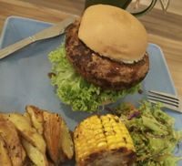 "Photo of Seeds Garden Bistro  by <a href=""/members/profile/Ang%20TP"">Ang TP</a> <br/>yummy mushroom burger <br/> March 15, 2017  - <a href='/contact/abuse/image/68249/269661'>Report</a>"