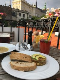 "Photo of Vegan's Prague  by <a href=""/members/profile/MichaMazaheri"">MichaMazaheri</a> <br/>View on the Castle, avocado tartare, cauliflower soul, ice tea, beer <br/> July 15, 2017  - <a href='/contact/abuse/image/71531/280651'>Report</a>"