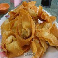 """Photo of Water Lily Restaurant  by <a href=""""/members/profile/veganmiam"""">veganmiam</a> <br/>Fried Wontons. It was really fried, but it still tasted good! <br/> April 11, 2009  - <a href='/contact/abuse/image/7264/1742'>Report</a>"""