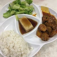 """Photo of Water Lily Restaurant  by <a href=""""/members/profile/The%20London%20Vegan"""">The London Vegan</a> <br/>set menu - vegan mutton curry  <br/> January 2, 2017  - <a href='/contact/abuse/image/7264/207194'>Report</a>"""