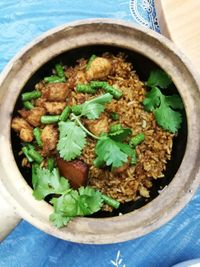 """Photo of Water Lily Restaurant  by <a href=""""/members/profile/RawChefYin"""">RawChefYin</a> <br/>Claypot Vegan Chicken Rice <br/> February 7, 2018  - <a href='/contact/abuse/image/7264/355888'>Report</a>"""