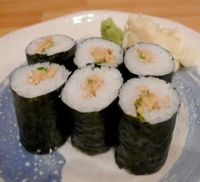 "Photo of Cha Ya  by <a href=""/members/profile/quarrygirl"">quarrygirl</a> <br/>Natto Fermented soy beans sushi roll <br/> November 30, 2011  - <a href='/contact/abuse/image/7274/189343'>Report</a>"