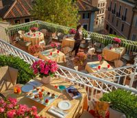 """Photo of Mater Terrae at Hotel Raphael  by <a href=""""/members/profile/MaterTerrae"""">MaterTerrae</a> <br/>Join us for lunch with a breathtaking view of the Eternal City  <br/> July 5, 2016  - <a href='/contact/abuse/image/74105/157890'>Report</a>"""
