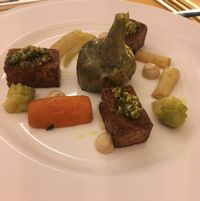 """Photo of Mater Terrae at Hotel Raphael  by <a href=""""/members/profile/hokusai77"""">hokusai77</a> <br/>Braised tofu and vegetables <br/> March 4, 2017  - <a href='/contact/abuse/image/74105/232418'>Report</a>"""