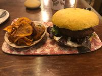 "Photo of La Encomienda  by <a href=""/members/profile/JFlah"">JFlah</a> <br/>veggie burger <br/> August 9, 2017  - <a href='/contact/abuse/image/76139/290834'>Report</a>"