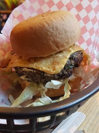 "Photo of Mooshies  by <a href=""/members/profile/lysi"">lysi</a> <br/>Gluten free option muh burger <br/> February 17, 2018  - <a href='/contact/abuse/image/78723/360481'>Report</a>"