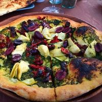 """Photo of Peekaboo Canyon Wood Fired Kitchen  by <a href=""""/members/profile/AmyOlson"""">AmyOlson</a> <br/>Best wood fired vegan pizza! <br/> November 13, 2016  - <a href='/contact/abuse/image/79524/189120'>Report</a>"""