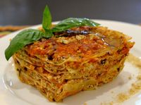 """Photo of La Pasta  by <a href=""""/members/profile/Cambobby"""">Cambobby</a> <br/>Vegan Lasagna <br/> May 30, 2017  - <a href='/contact/abuse/image/83737/264126'>Report</a>"""