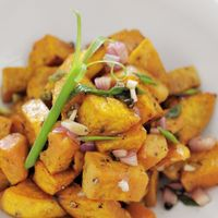 """Photo of La Pasta  by <a href=""""/members/profile/Cambobby"""">Cambobby</a> <br/>Sweet Potato Salad <br/> June 14, 2017  - <a href='/contact/abuse/image/83737/268973'>Report</a>"""