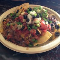 "Photo of Sanctuary Vegan Cafe  by <a href=""/members/profile/Oscargogh"">Oscargogh</a> <br/>loaded nachos  <br/> March 23, 2017  - <a href='/contact/abuse/image/84135/239892'>Report</a>"