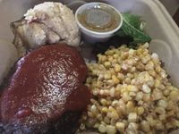 "Photo of Sanctuary Vegan Cafe  by <a href=""/members/profile/TraciH"">TraciH</a> <br/>Lentil Meatloaf with Corn, Mashed Potatoes, and Gravy <br/> November 13, 2017  - <a href='/contact/abuse/image/84135/325313'>Report</a>"