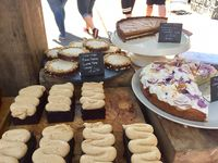 """Photo of Our Cornish Pasty Shop  by <a href=""""/members/profile/Sundeez"""">Sundeez</a> <br/>the amazing vegan cakes <br/> June 17, 2017  - <a href='/contact/abuse/image/84324/270213'>Report</a>"""