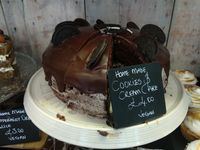 """Photo of Our Cornish Pasty Shop  by <a href=""""/members/profile/Miggi"""">Miggi</a> <br/>Vegan cookies & cream cake <br/> April 15, 2018  - <a href='/contact/abuse/image/84324/386421'>Report</a>"""
