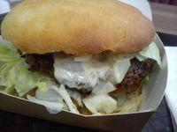 "Photo of Istvanffi Veggie Burger - Downtown  by <a href=""/members/profile/FernandoMoreira"">FernandoMoreira</a> <br/>Bind band mushroom and oat burger <br/> November 4, 2017  - <a href='/contact/abuse/image/91118/321756'>Report</a>"