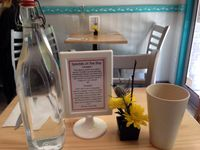 """Photo of Quintessence  by <a href=""""/members/profile/cookiem"""">cookiem</a> <br/>Water and specials on table <br/> June 22, 2015  - <a href='/contact/abuse/image/9731/106998'>Report</a>"""