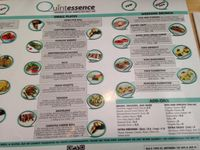 """Photo of Quintessence  by <a href=""""/members/profile/cookiem"""">cookiem</a> <br/>Menu view 2 <br/> June 22, 2015  - <a href='/contact/abuse/image/9731/174240'>Report</a>"""