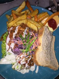 "Photo of Mr. & Mrs. Watson  by <a href=""/members/profile/Cee"">Cee</a> <br/>Sloppy BBQ sandwich (jackfruit)  <br/> November 1, 2017  - <a href='/contact/abuse/image/99503/320792'>Report</a>"