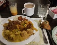 """We visited this Indian Restaurant in Mesa, AZ on Dec 1, 2017 for the first time, It's a nice place, with a dinner buffet. There are clearly marked portions of the buffet for Vegan options. The food all tasted great, they had many Vegan options, but also some meat. They bring fresh made breads to the table as you eat. There was chai tea & mango juice as well as some sweets. Friendly staff. They were open late 10pm  More Pics  http://whatdoyoueatthen.com/india-oven-mesa-az/<br/>                 <a href=""""/reviews/india-oven-mesa-107690"""">India Oven</a><br/> December 22, 2017"""