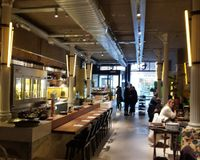 """Interior <br/>                 <a href=""""/reviews/flax-and-kale-barcelona-109282"""">Flax & Kale - Sant Pere Més</a><br/> January 11, 2018"""