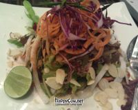 "raw coconut pad thai<br/>                 <a href=""/reviews/ariyas-organic-place-bangkok-16517"">Ariya's Organic Place</a><br/> May 6, 2012"