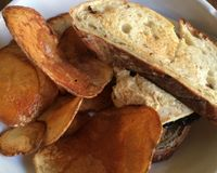 """smoked tofu and (field roast) sausage with spinach sandwich <br/>                 <a href=""""/reviews/plum-bistro-seattle-18615"""">Plum Bistro</a><br/> January 4, 2014"""