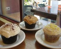 """Yummy homemade vegan cupcakes baked fresh each morning in our kitchen...  Our newest flavor is Lemon Macadamia...<br/>                 <a href=""""/reviews/lotus-cafe-and-juice-bar-encinitas-18943"""">Lotus Cafe and Juice Bar</a><br/> February 25, 2012"""