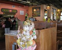 """Casual, order at the front counter...  : )<br/>                 <a href=""""/reviews/lotus-cafe-and-juice-bar-encinitas-18943"""">Lotus Cafe and Juice Bar</a><br/> September 24, 2014"""