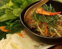 "papaya salad<br/>                 <a href=""/reviews/anotai-bangkok-2766"">Anotai</a><br/> January 8, 2018"