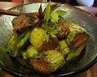 "eggplant<br/>                 <a href=""/reviews/anotai-bangkok-2766"">Anotai</a><br/> January 8, 2018"