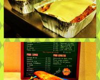 "Lasagnas and Vegan pitas griegas<br/>                 <a href=""/reviews/lenteja-express-pablado-medellin-29612"">Lenteja Express - Poblado</a><br/> April 19, 2013"