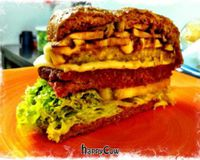 "Veggie burger<br/>                 <a href=""/reviews/lenteja-express-pablado-medellin-29612"">Lenteja Express - Poblado</a><br/> April 19, 2013"