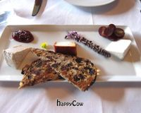 """Kite Hill cheese plate<br/>                 <a href=""""/reviews/crossroads-kitchen-los-angeles-37466"""">Crossroads Kitchen</a><br/> May 3, 2013"""