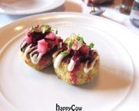 """Crab cakes<br/>                 <a href=""""/reviews/crossroads-kitchen-los-angeles-37466"""">Crossroads Kitchen</a><br/> May 3, 2013"""