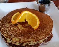 """regular and blue corn vegan pancakes<br/>                 <a href=""""/reviews/a-votre-sante-west-los-angeles-3960"""">A Votre Sante</a><br/> June 24, 2017"""