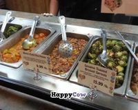 """hot bar vegan items<br/>                 <a href=""""/reviews/abbys-health-and-nutrition-tampa-4384"""">Abby's Health and Nutrition</a><br/> October 28, 2013"""