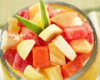 """100 Percent Natural - fruit salad<br/>                 <a href=""""/reviews/100-percent-natural-oaxaca-44548"""">100 Percent Natural</a><br/> February 26, 2015"""