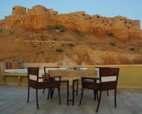 """Outdoor Seating<br/>                 <a href=""""/reviews/1st-gate-home-fusion-jaisalmer-45458"""">1st Gate Home-Fusion</a><br/> March 12, 2014"""
