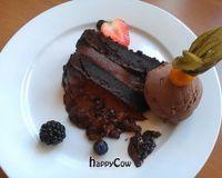 "Chocolate gateau<br/>                 <a href=""/reviews/222-vegan-cuisine-west-london-4655"">222 Vegan Cuisine</a><br/> May 27, 2013"