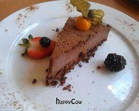 "Raw chocolate cake<br/>                 <a href=""/reviews/222-vegan-cuisine-west-london-4655"">222 Vegan Cuisine</a><br/> May 27, 2013"