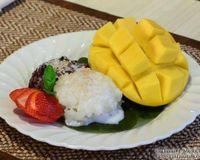 """Sticky rice dessert<br/>                 <a href=""""/reviews/5-thai-bistro-portsmouth-46669"""">5 Thai Bistro</a><br/> June 12, 2014"""