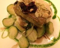 """chanterelle encrusted tofu<br/>                 <a href=""""/reviews/candle-79-new-york-city-4849"""">Candle 79</a><br/> December 24, 2013"""