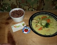 """Stopped by this Arizona Vegan Restaurant for the first time onNov 30, 2017 and tried these dumplings? Most of the items on the menu are fake meat, so I went with a non-fake-meat option. that were good. I could have used more rice Parking could be an issue too, its downtown  more pictures at  http://whatdoyoueatthen.com/vegan-house-phoenix-az/<br/>                 <a href=""""/reviews/vegan-house-phoenix-57294"""">Vegan House</a><br/> December 21, 2017"""