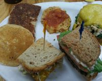 """sampler plate<br/>                 <a href=""""/reviews/7th-element-burbank-61715"""">7th Element</a><br/> February 28, 2016"""