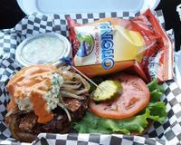 """Wildcat Burger and chips Jan 2017<br/>                 <a href=""""/reviews/lovin-spoonfuls-tucson-6272"""">Lovin' Spoonfuls</a><br/> March 5, 2017"""