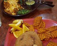 "eggplant burger, cheese fries and nachos<br/>                 <a href=""/reviews/go-vegan-cafe-las-vegas-65093"">Go Vegan Cafe</a><br/> August 8, 2017"