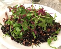 """mushroom risotto<br/>                 <a href=""""/reviews/redemption-shoreditch-east-london-68589"""">Redemption - Shoreditch</a><br/> October 29, 2016"""