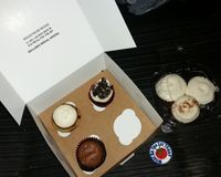 """Visited this Vegan Bakery for the first time onNov 14, 2017 based on the reviews on Happy Cow. It was also the only Veg place open at the time we were passing through (7pm?) . these were not cheap, but very good, I tried a vegan pepper & chocolate that was very good. I would eat here again  More pics at: http://whatdoyoueatthen.com/green-goodies-oklahoma-city-ok/<br/>                 <a href=""""/reviews/green-goodies-oklahoma-city-68610"""">Green Goodies</a><br/> December 20, 2017"""