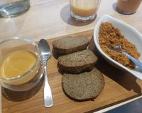 """Coffee and black sesame biscuits <br/>                 <a href=""""/reviews/hope-paris-87365"""">Hope</a><br/> March 25, 2018"""